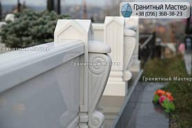 Памятник из белого мрамора женщине в с. Хотов, Киевской обл.  26