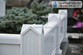 Памятник из белого мрамора женщине в с. Хотов, Киевской обл.  27