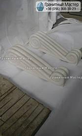 Памятник из белого мрамора женщине в с. Хотов, Киевской обл.  12