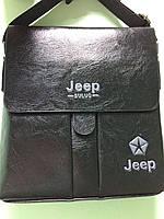 Сумка чоловіча JEEP buluo PI 510 (еко шкіра), фото 1
