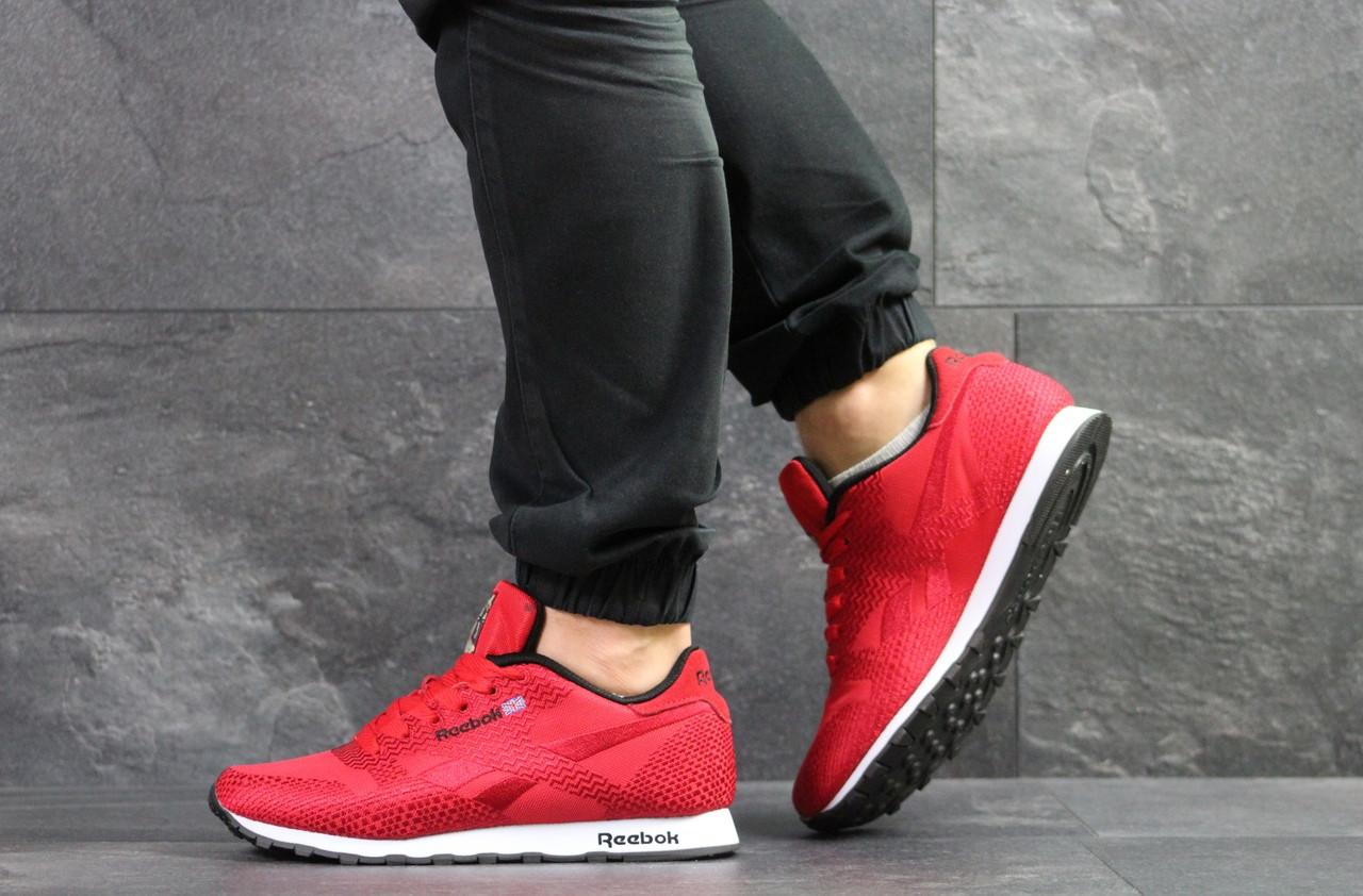 Чоловічі кросівки Reebok,текстиль,сітка,червоні 43,44 р