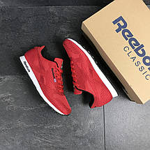 Чоловічі кросівки Reebok,текстиль,сітка,червоні 43,44 р, фото 3
