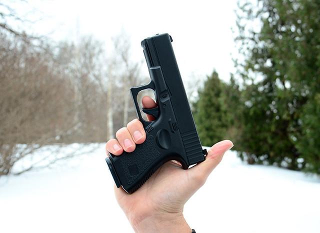 Страйкбольный пистолет Глок 17 (Glock 17) Galaxy G15 купить