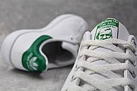 Кроссовки белые с зеленым задником Adidas Stan Smith Green Адідас Стен Смит