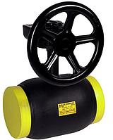 Кран шаровый стальной под приварку BROEN (Дания) BALLOMAX DN100 PN25 ДУ100 РУ25 c редуктором, 9110225100 480