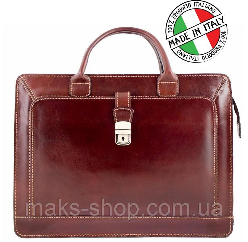 ad32d1ae9a11 Кожаный Деловой Портфель Bottega Carele Италия — в Категории ...