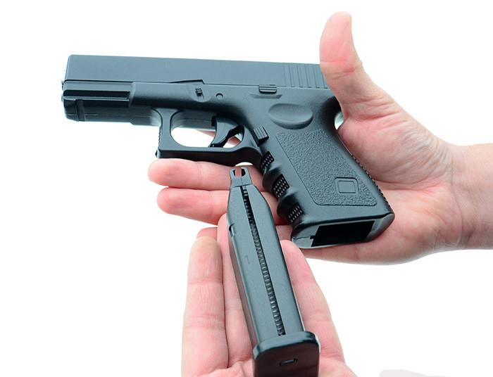 Страйкбольный пистолет Глок 17 (Glock 17) Galaxy G15