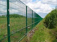 Еврозабор из сетки сварной в Днепре  3/4 мм. 2.5м х 1.23м