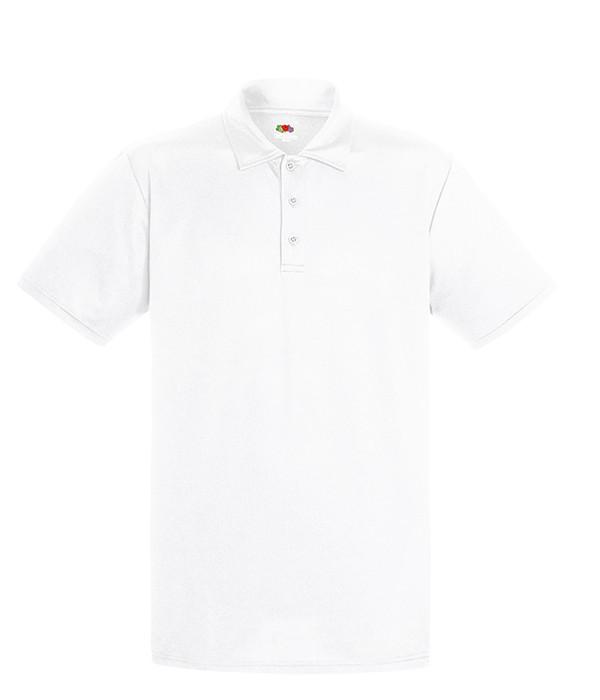 Мужская спортивная тенниска поло XL Белый