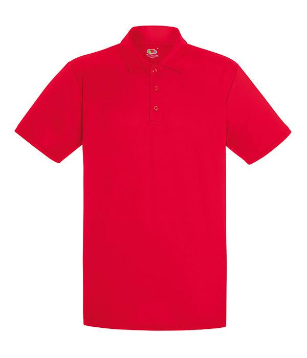 Мужская спортивная тенниска поло XL Красный