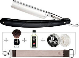 Набор для бритья Boker Classic Black Spanisch Head Set