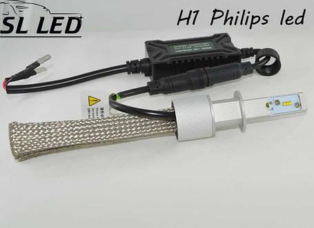 Комплект LED ламп в головной свет серии G5S Цоколь H1, 22W, 3600 Люмен/Комплект, фото 2