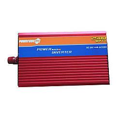 Преобразователь напряжения 24v-220v 2500W UKC
