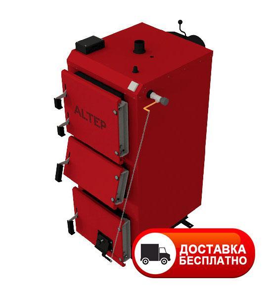 Твердотопливный котел длительного горения Альтеп DUO 38 кВт (механика)