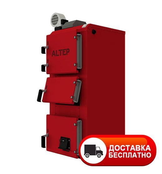 Твердотопливный котел длительного горения Альтеп DUO PLUS 38 кВт (автоматика)
