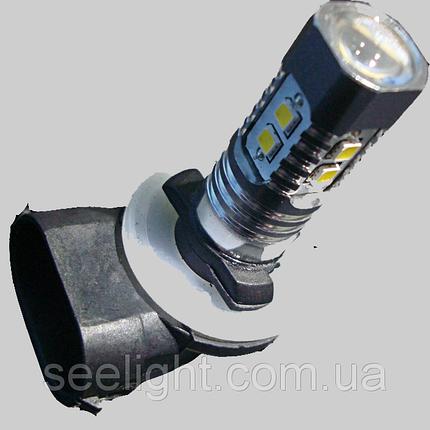 Автомобильная светодиодная лампа с цоколем Н27(881)-Samsung 2323 в противотуманные фонари, фото 2