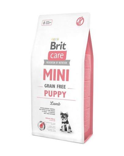 Сухой корм для щенков миниатюрных пород Brit Care Mini Grain Free Puppy 7 кг