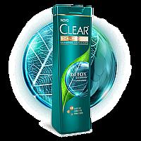 Шампунь против перхоти Clear Detox 400мл