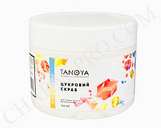 Сахарный скраб с Натуральными маслами Tanoya (300мл).