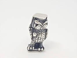 Срібний сувенір Мудра сова. Артикул 9058