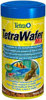 Сухой корм для рыб Tetra Wafer Mix, 250 мл