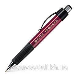 Ручка шариковая Faber-Castell Grip Plus Red Metallic, автоматическая, корпус красный, 140731