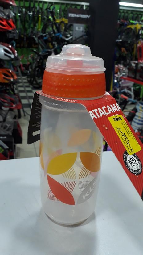 Фляга KLS Atacama 500 мл прозорий/помаранчевий  (99015589)