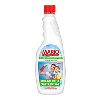 Засіб для миття вікон і скляних поверхонь запаска Mario 500 мл Зелене Яблуко  (4823317335391)