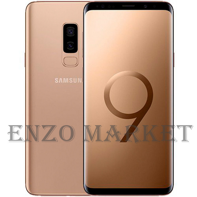 Galaxy S9 128GB Plus Duos Gold