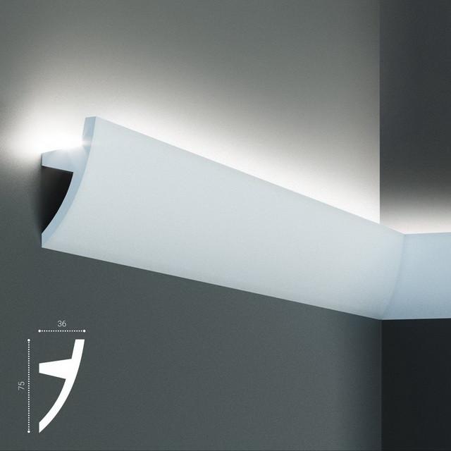 Карниз Tesori KF502 (75x36)мм