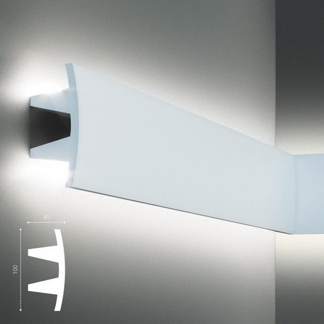 Карниз Tesori KF503 (100x45)мм