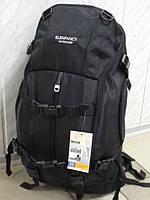 Рюкзак туристичний Elenfancy 38л чорний, фото 1