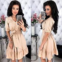 Платье женское ( лен; р-ры S-M,L-XL )