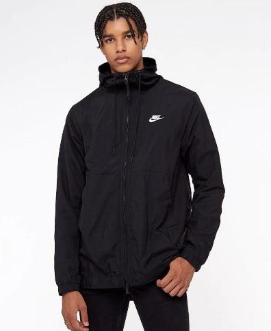 9adfe314 Куртка Nike Sportswear Jacket Woven 928857-010 (Оригинал) - Football Mall -  футбольный
