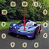 "Настенные часы МДФ  ""Renault"" кварцевые, фото 2"