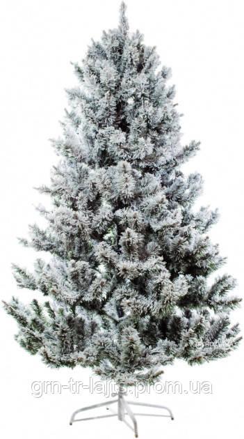 Искусственная елка со снегом