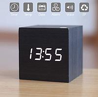 Настольные часы VST-869-6 с белой подсветкой