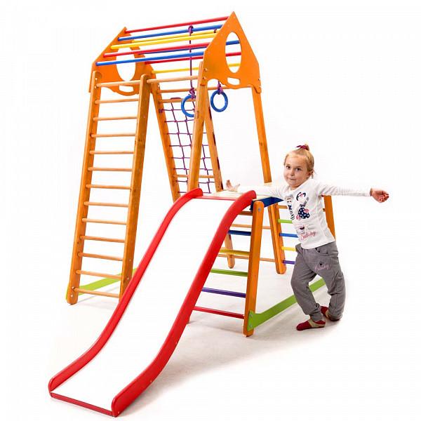 Детский спортивный комплекс  BambinoWood Plus 1-1