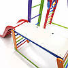 Детский спортивный комплекс  BambinoWood Color Plus 1-1, фото 6