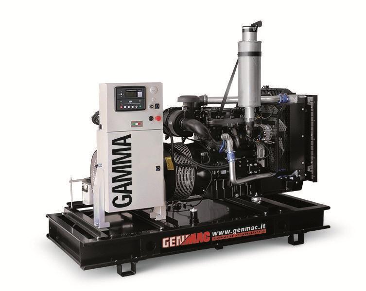 Трехфазный дизельный генератор Genmac Gamma G150 IO (132 кВт)