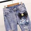 Женский костюм: джинсы и футболка в расцветках, р-р 42-48. АР-9-0419, фото 6
