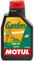 Масло моторное для садовой техники MOTUL GARDEN 4T SAE 30 (1L)/102787