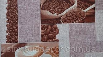 Шпалери паперові мийка Шарм 0,53*10,05 кухня, декор кави