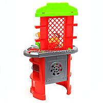 Детская игрушечная мебель Кухня арт.0847 (салатово-оранжевая)., фото 6