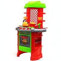 Детская игрушечная мебель Кухня арт.0847 (салатово-оранжевая)., фото 3