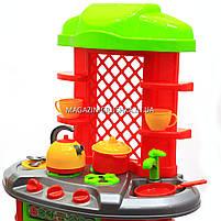Детская игрушечная мебель Кухня арт.0847 (салатово-оранжевая)., фото 4