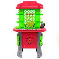 Детская игрушечная мебель Кухня арт.0915 (салатово-розовая), фото 6