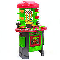 Детская игрушечная мебель Кухня арт.0915 (салатово-розовая), фото 2