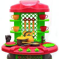 Детская игрушечная мебель Кухня арт.0915 (салатово-розовая), фото 4