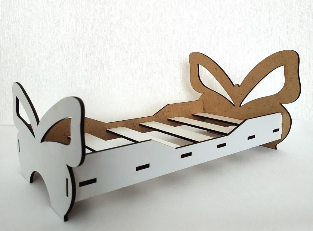 Игрушка Кровать большая 3 для кукол Барби, Братц, Монстер Хай